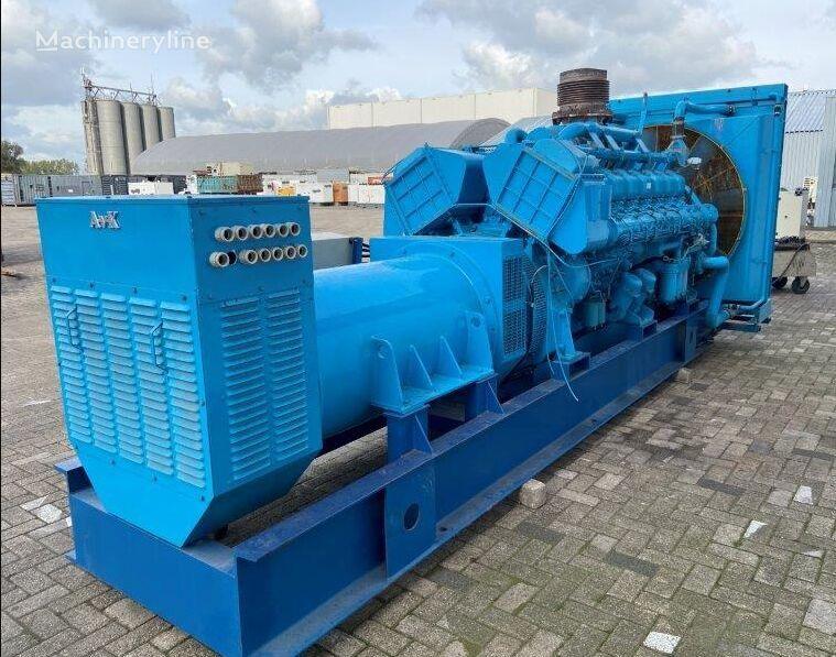 MITSUBISHI AvK, 1000 KVA , 1989 diesel generator