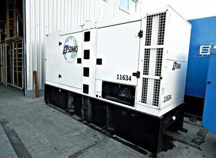 SDMO R165 diesel generator
