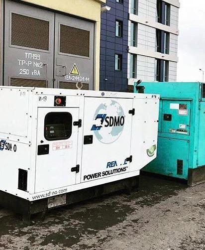 SDMO R90 diesel generator