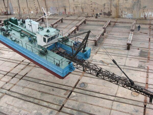 new AHTAREC 1400/40 dredge