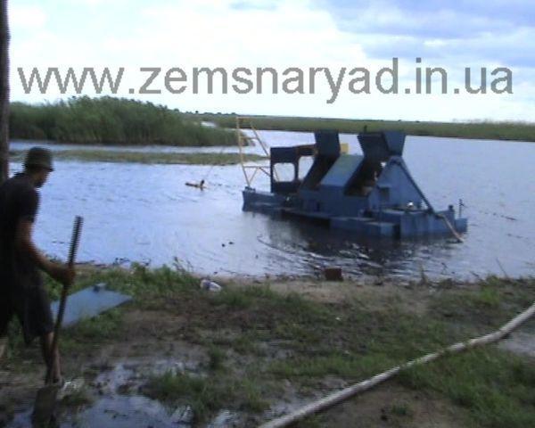 new NSS 60/23-D-GR mini zemsnaryad dredge