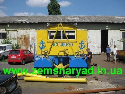 new NSS Zemsnaryad 400/20-GR dredge