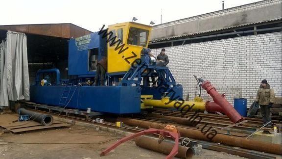 new NSS Zemsnaryad NSS 400/20-F dredge