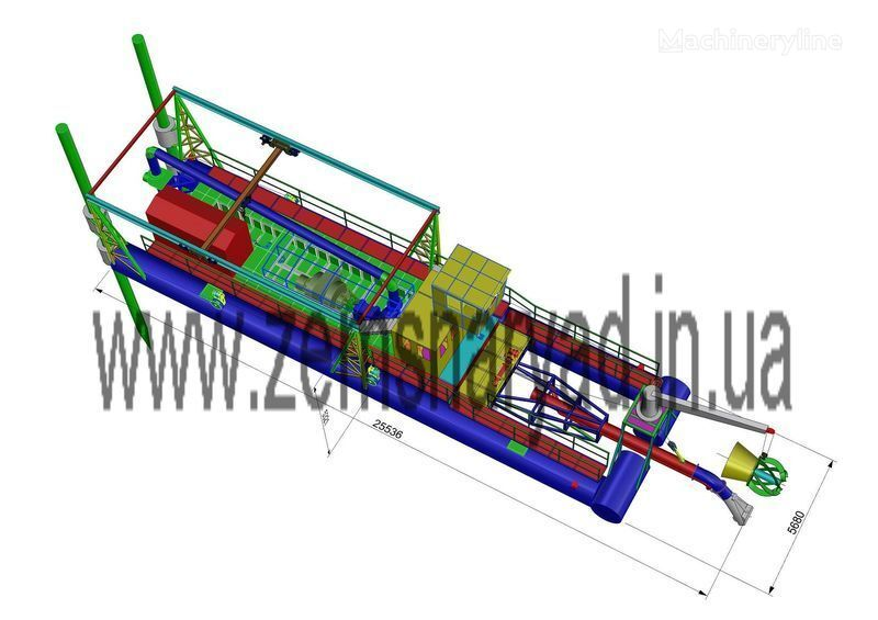 NSS Zemsnaryad NSS 6000/70-F-GR-E dredge