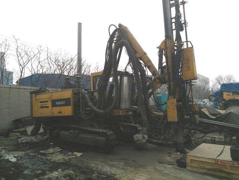 Atlas Copco Roc d7 drilling rig