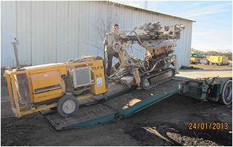 BERETTA T43 drilling rig