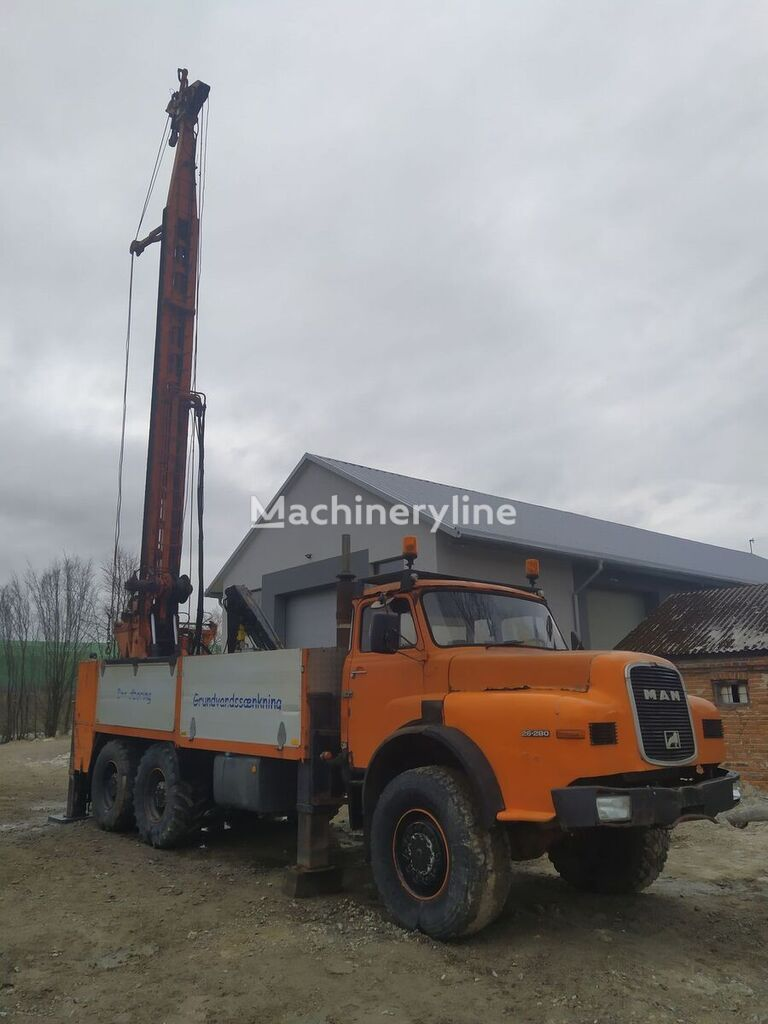 MAN 6x6 Big water well drill rig drilling rig