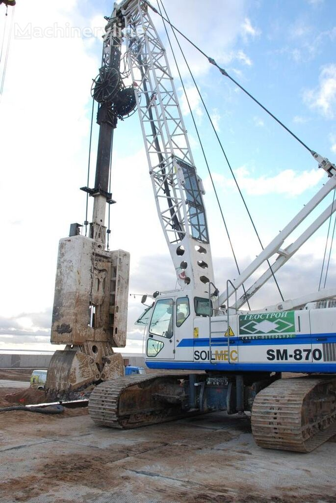 SOILMEC SM-870 drilling rig