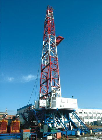 new Shaanxi Tefico ZJ70/4500D drilling rig