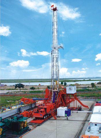 new ZYT Petroleum ZJ40 drilling rig