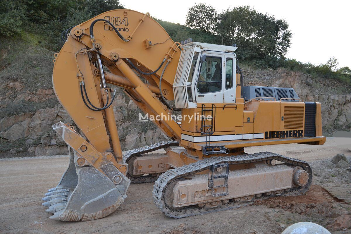 LIEBHERR R984B-LI front shovel excavator