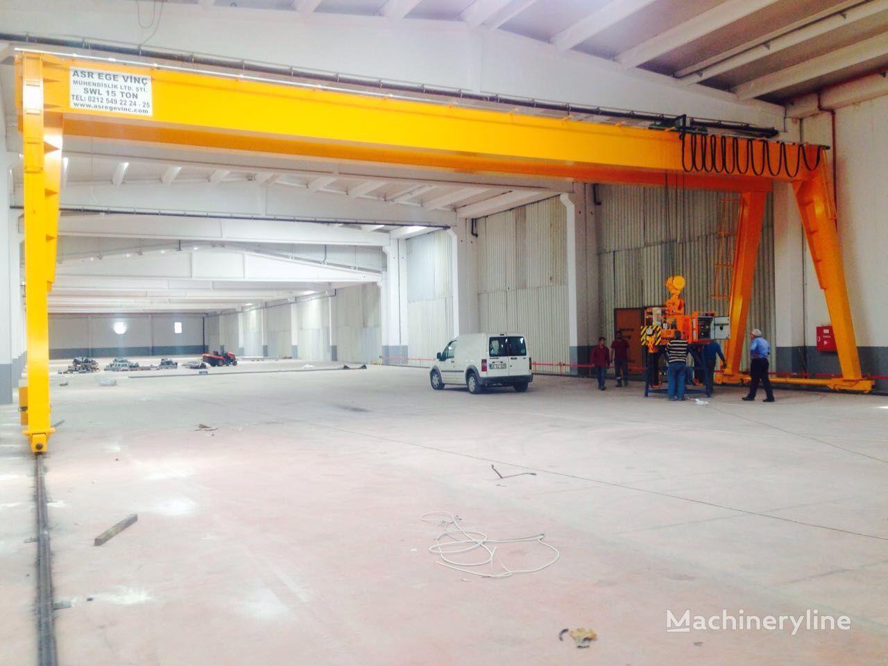 new ASR VİNÇ Gantry Crane ,  Kozlovoy kran , رافعة جسرية , portal krani gantry crane