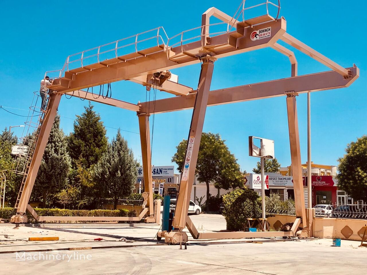 new DEWINCH 10 TONS 16 METERS GANTRY CRANE BRAND NEW DWC-40 gantry crane