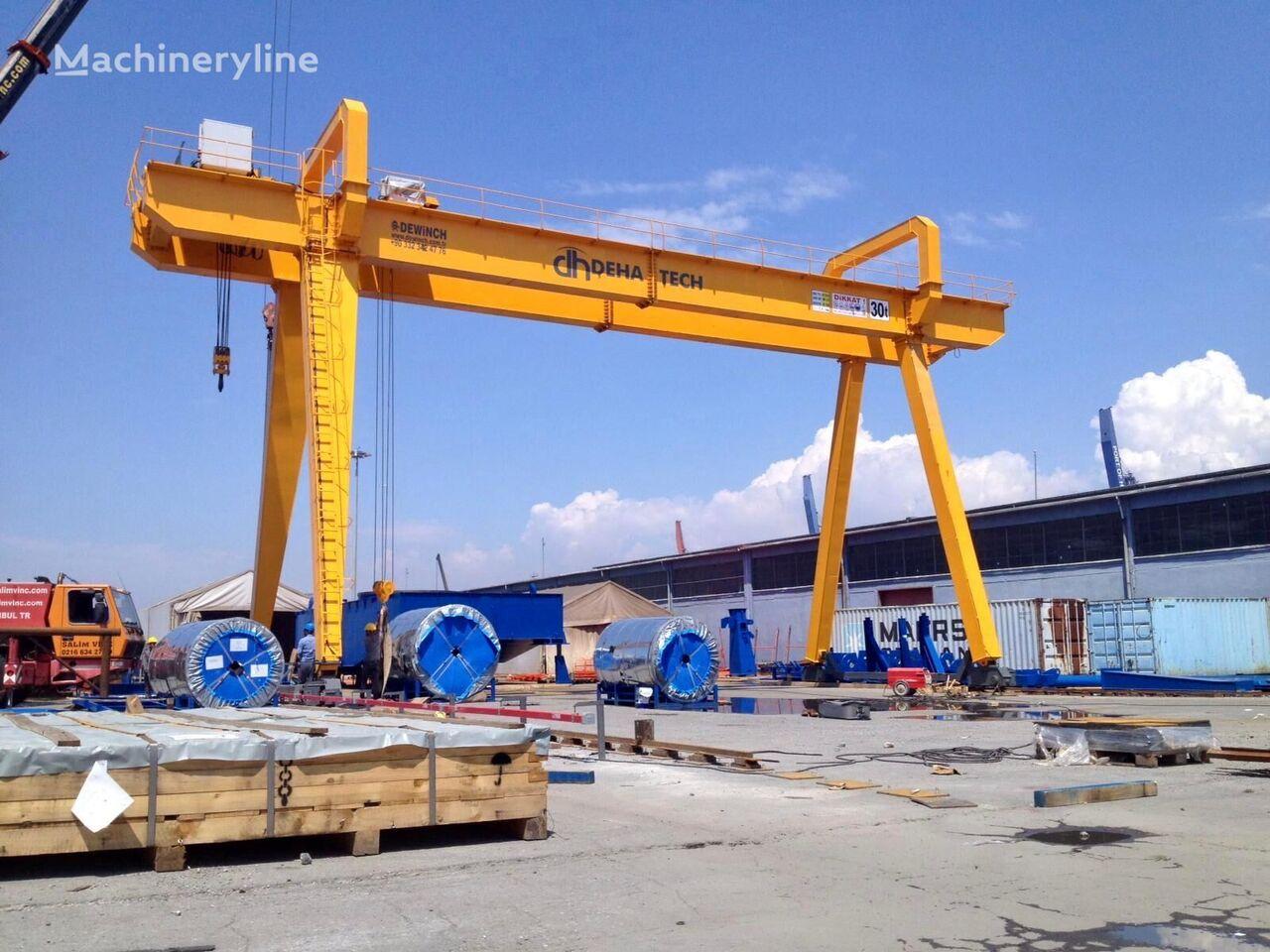 new DEWINCH 50 TONS GANTRY CRANE BRAND NEW QUALITY DOUBLE BEAM GANTRY CRANE gantry crane