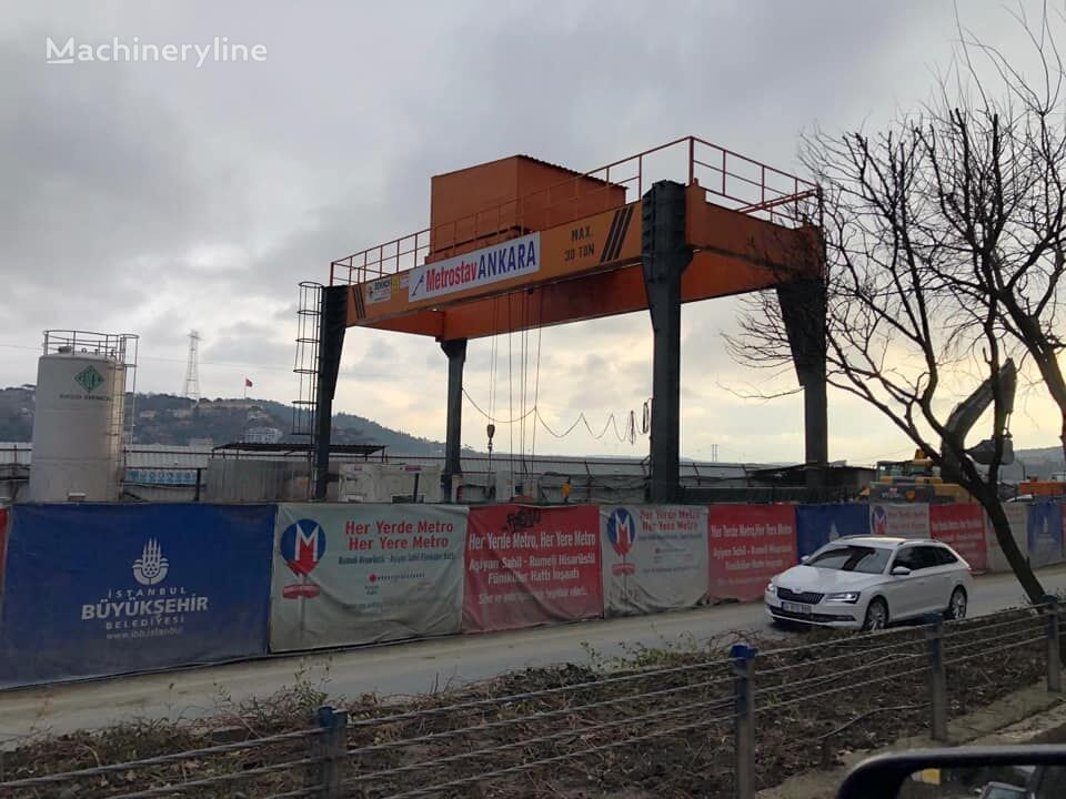 new DEWINCH GANTRY CRANE FOR METRO CONSTRUCTIONS DWC-80 gantry crane