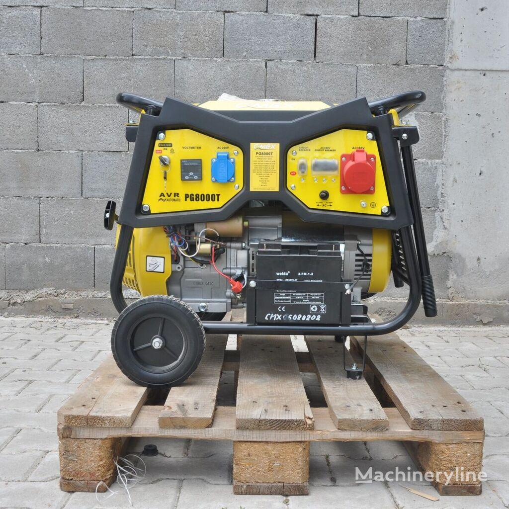 new CIMEX PG8000T gasoline generator