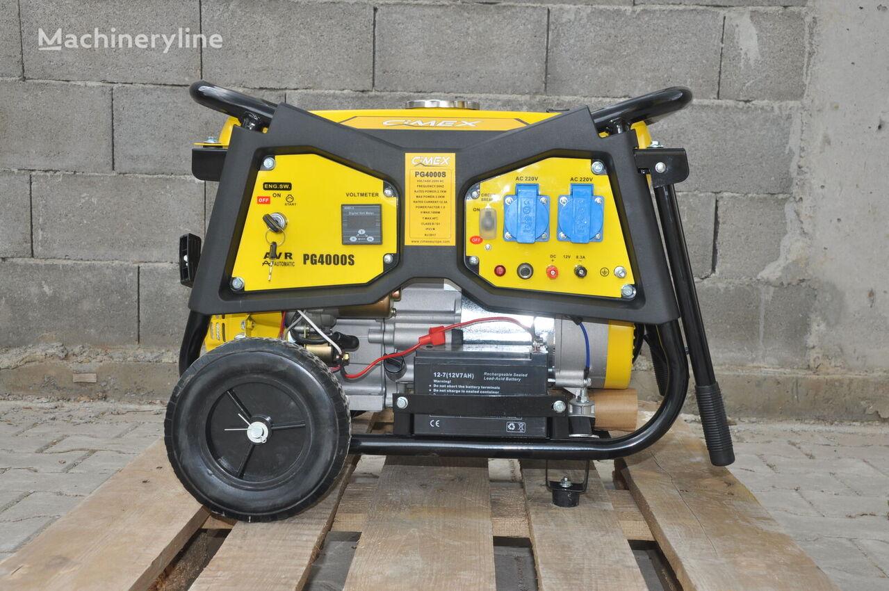 new CIMEX Petrol Generator 3.0 kW CIMEX PG4000S gasoline generator