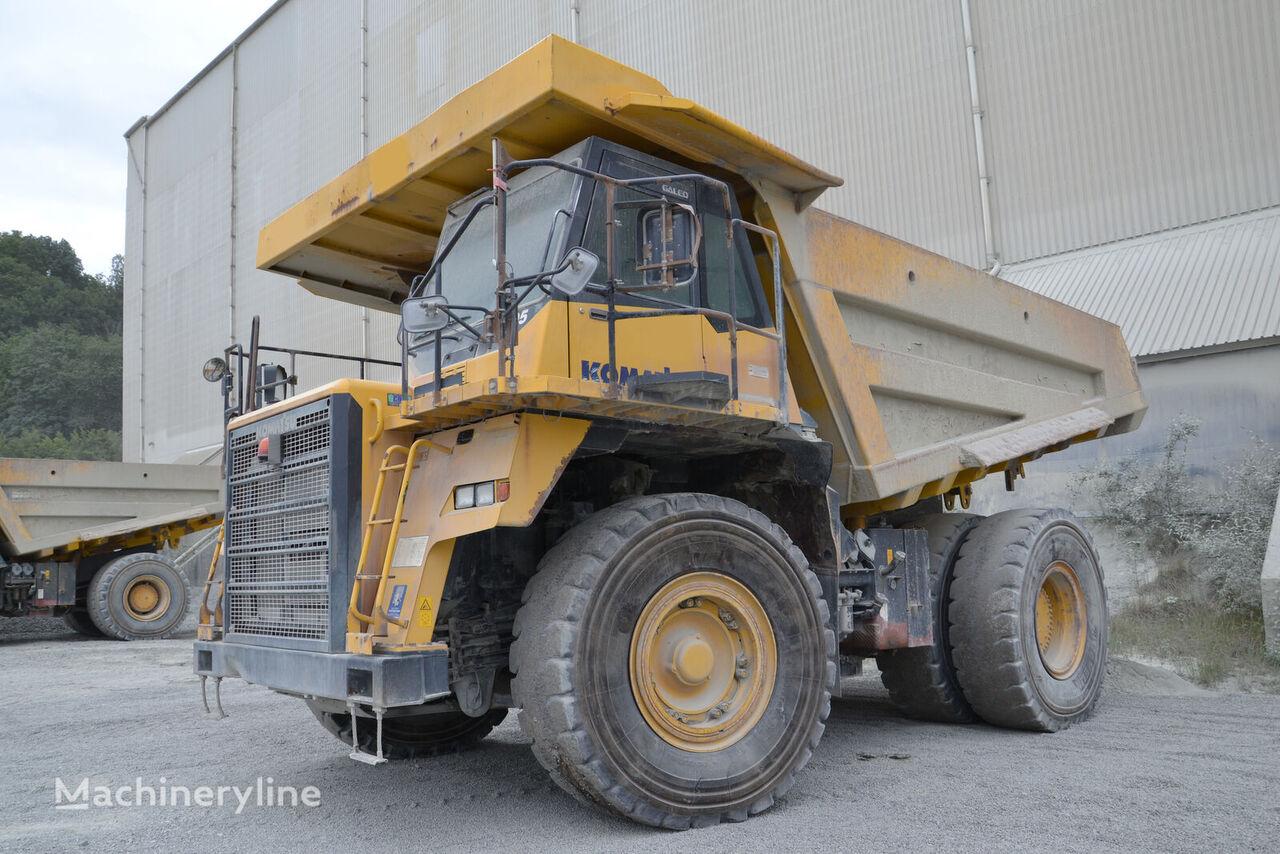 KOMATSU HD605-7EO haul truck