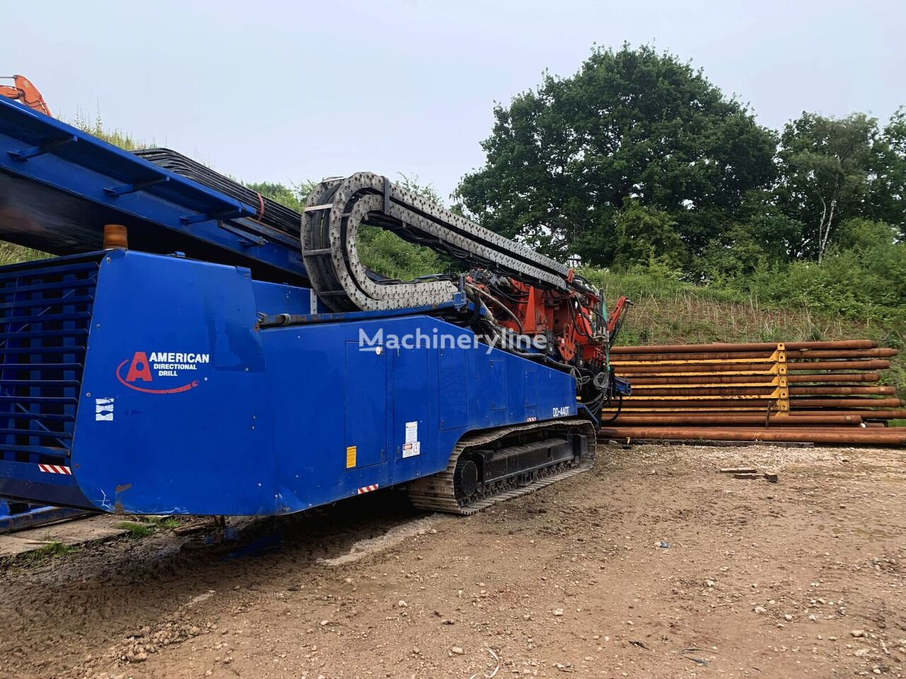 AMERICAN American Augers DD 440-T horizontal drilling rig