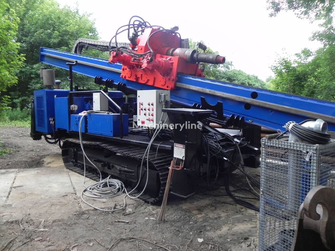 AMERICAN Augers DD100 horizontal drilling rig