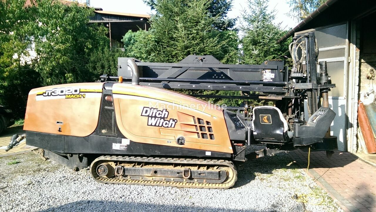 DITCH-WITCH JT3020 horizontal drilling rig