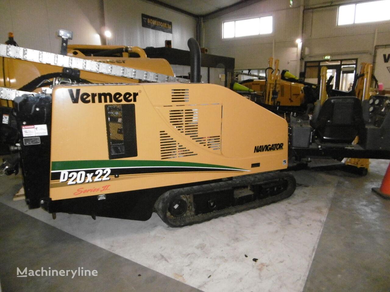 VERMEER  D20x22 Series II horizontal drilling rig