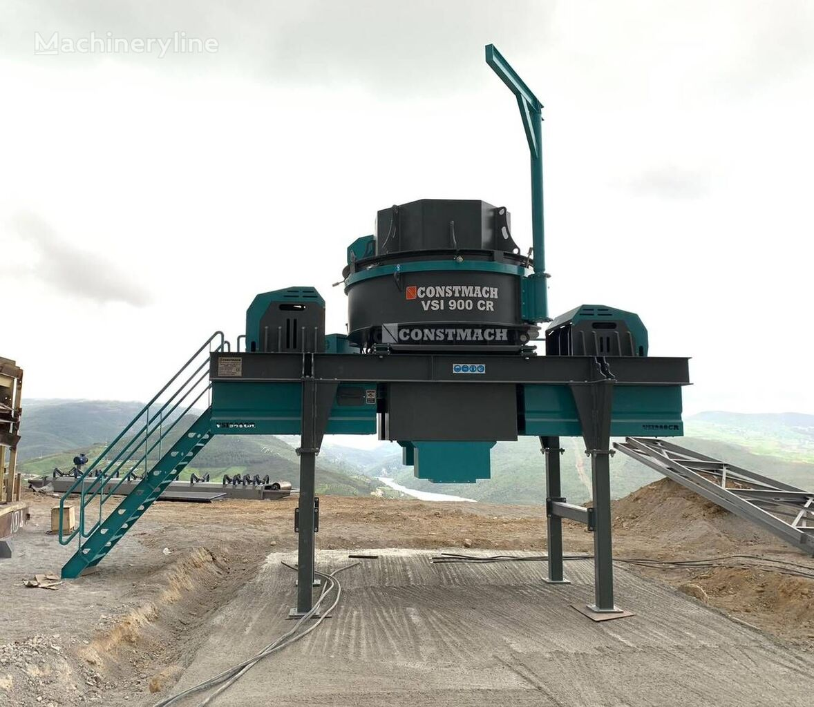 new CONSTMACH 250 TPH CAPACITY VERTICAL SHAFT IMPACT CRUSHER – VSI 900 CR impact crusher
