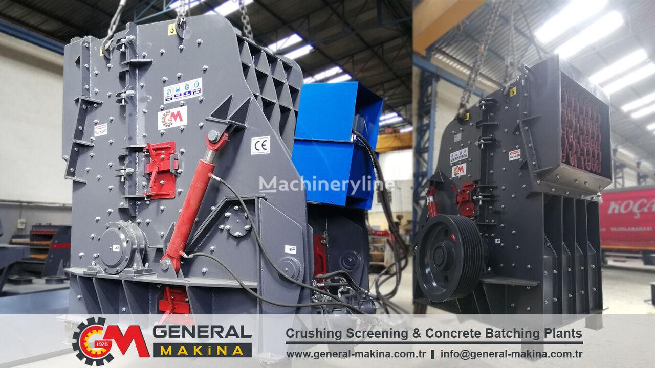 new GENERAL MAKİNA Secondary impact crusher