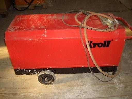 KROLL Gasheizer P 1420 i industrial heater