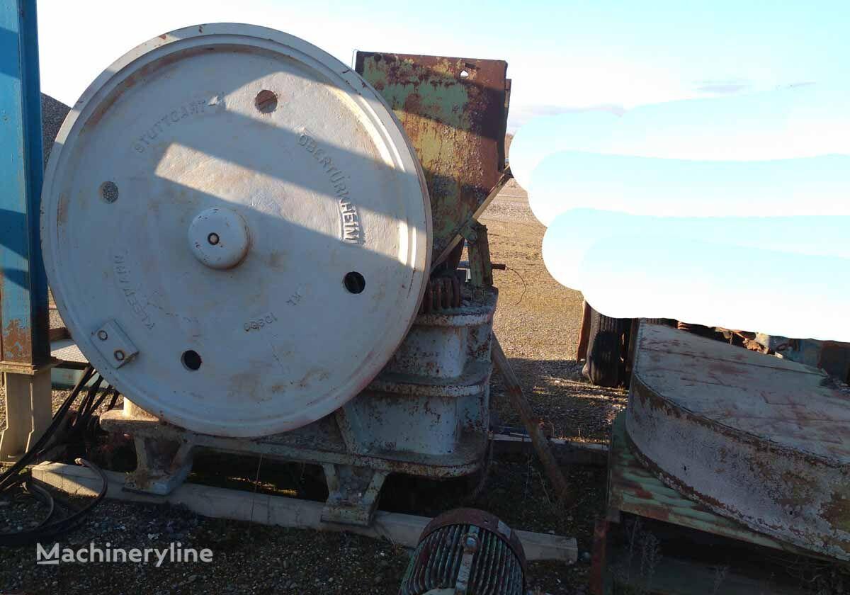 KLEEMANN Jaw crusher 600x 350 mm,  type SSTB jaw crusher