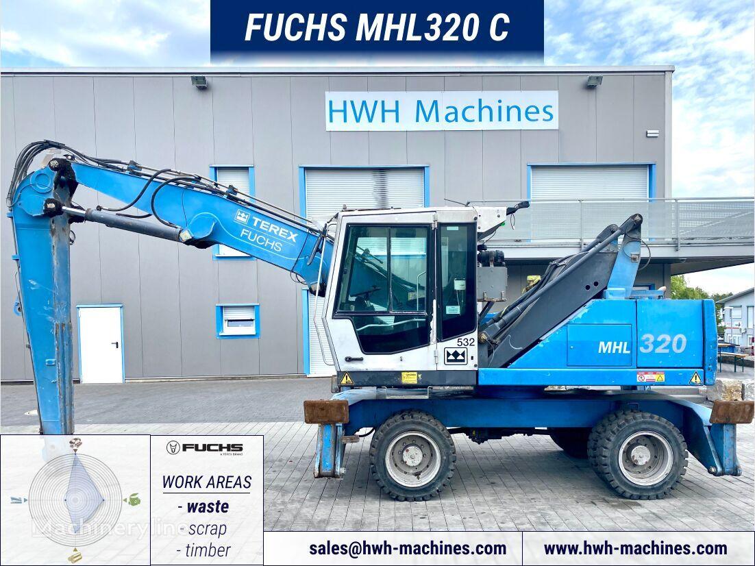 FUCHS MHL 320 C material handler
