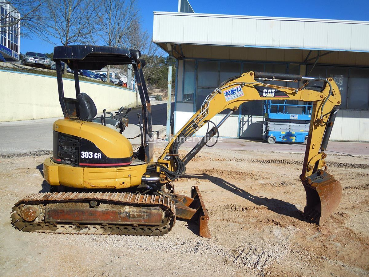 CATERPILLAR 303 CR mini digger