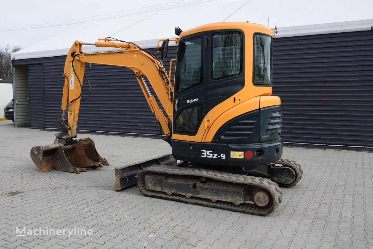 HYUNDAI R35Z-09 mini diggers for sale, mini excavator