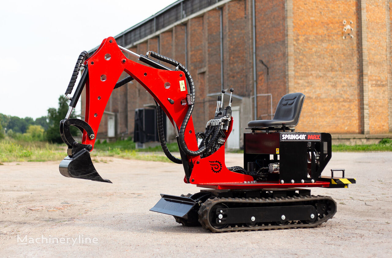 new SpringerMAX mini digger