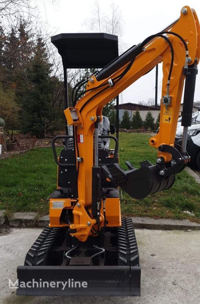 new BERGER KRAUS BK800BS Nowa minikoparka Mini excavator Torsion arm  mini excavator