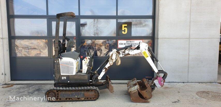 BOBCAT E10 mini excavator