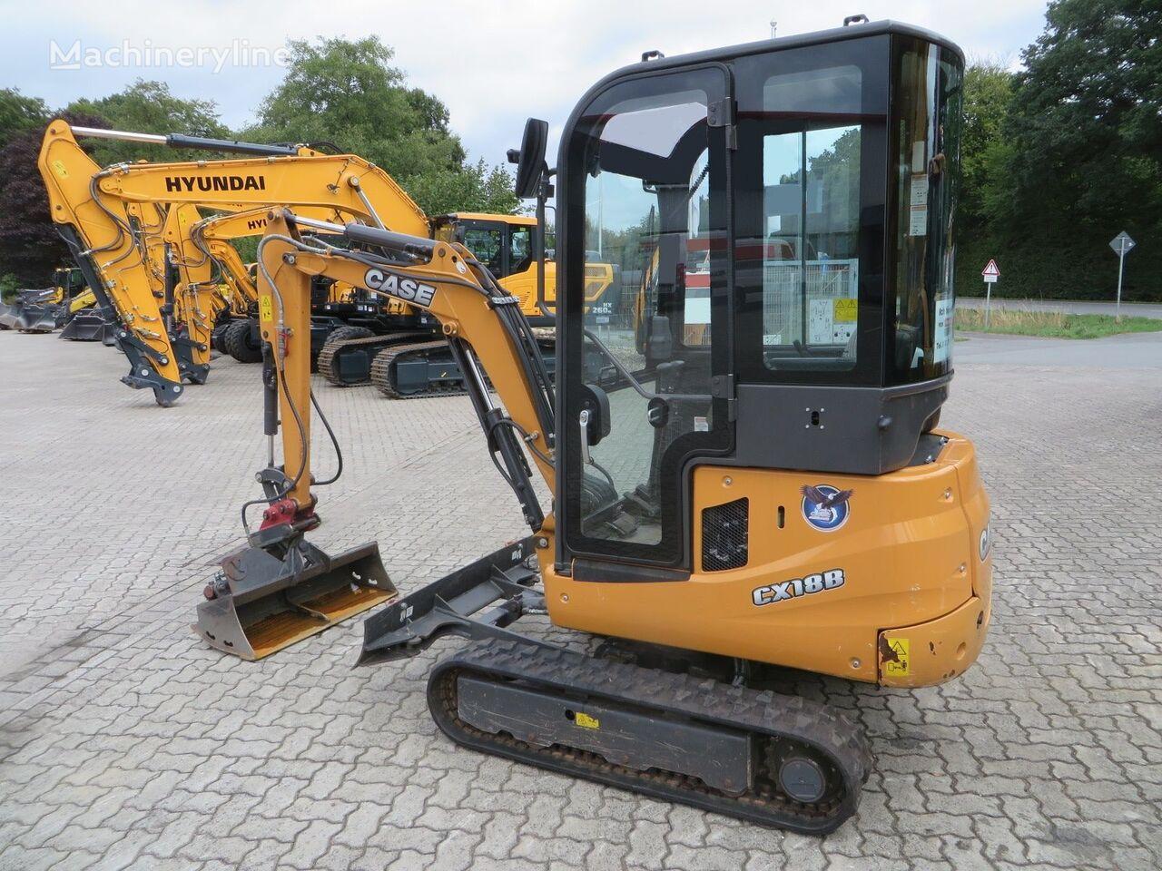 CASE CX 18B Series2  mini excavator