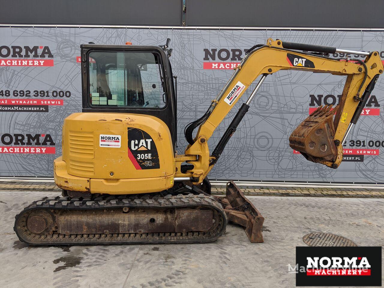 CATERPILLAR 305 CR mini excavator