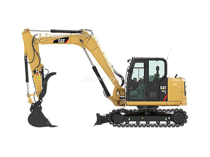 new CATERPILLAR 308E2 CR mini excavator