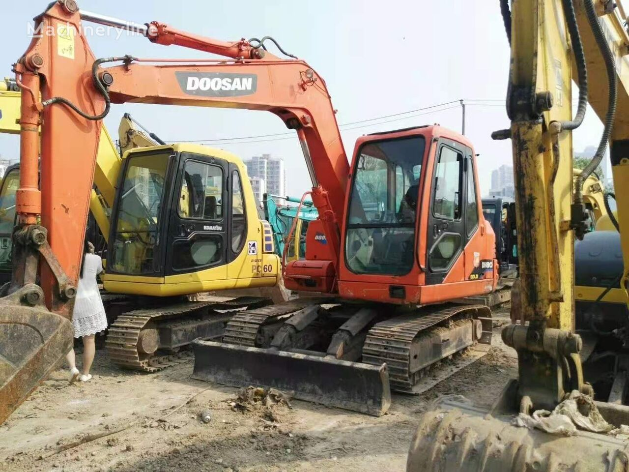DOOSAN DH80 mini excavator