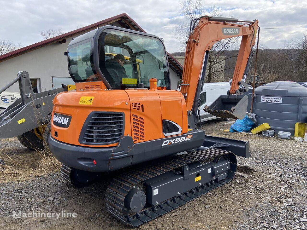 new DOOSAN DX55-9C fabrycznie nowa !!! mini excavator