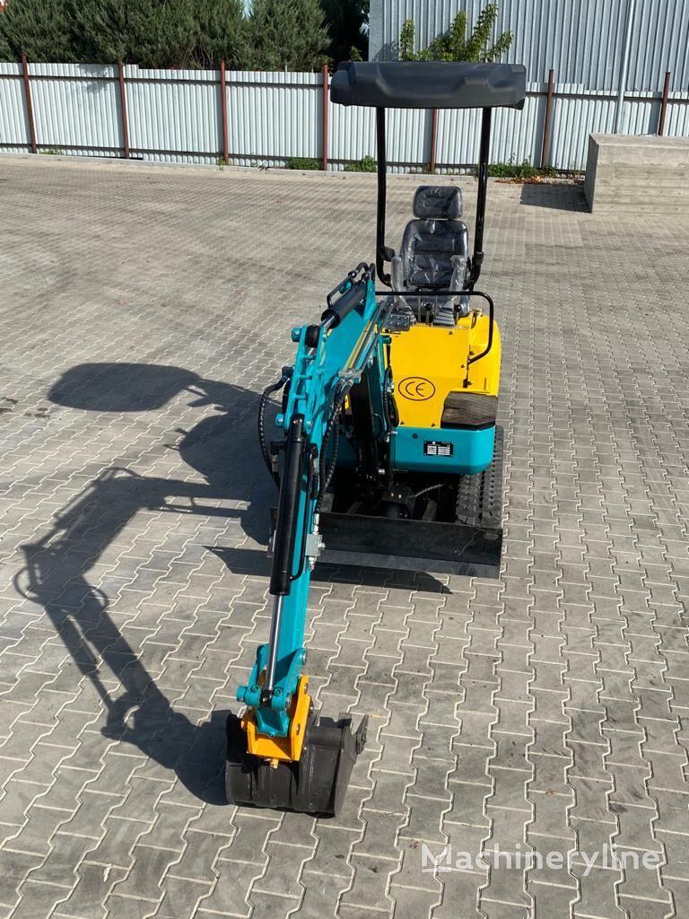 new Günter Grossmann GG1600 mini excavator