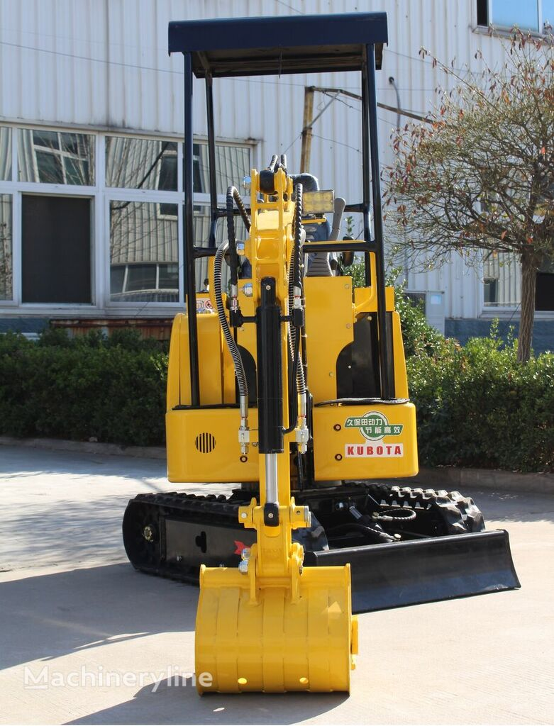 new Günter Grossmann KUBOTA - GG1000 mini excavator