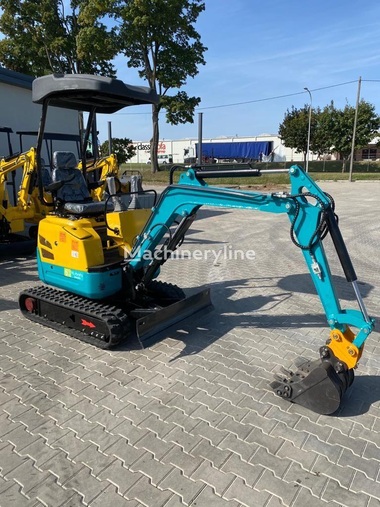 new Günter Grossmann Kubota Engine GG1600 mini excavator