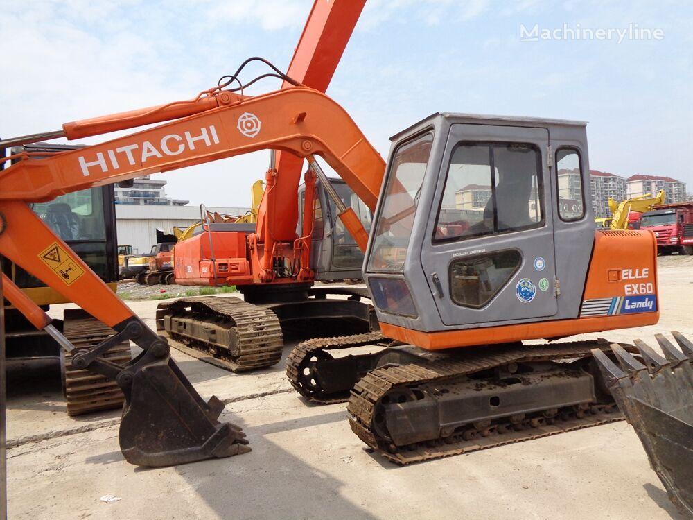 HITACHI EX60 mini excavator