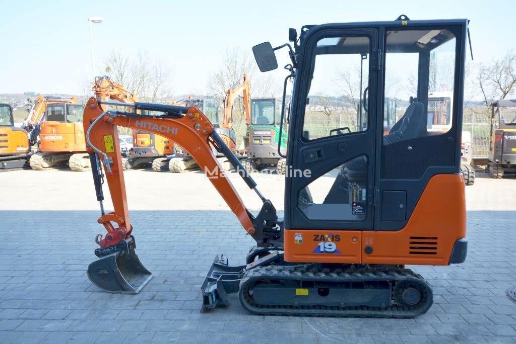 new HITACHI ZX 19-6  mini excavator