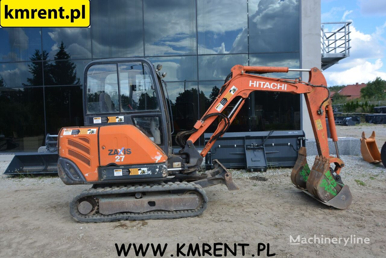 HITACHI ZX 27 | 17 mini excavator