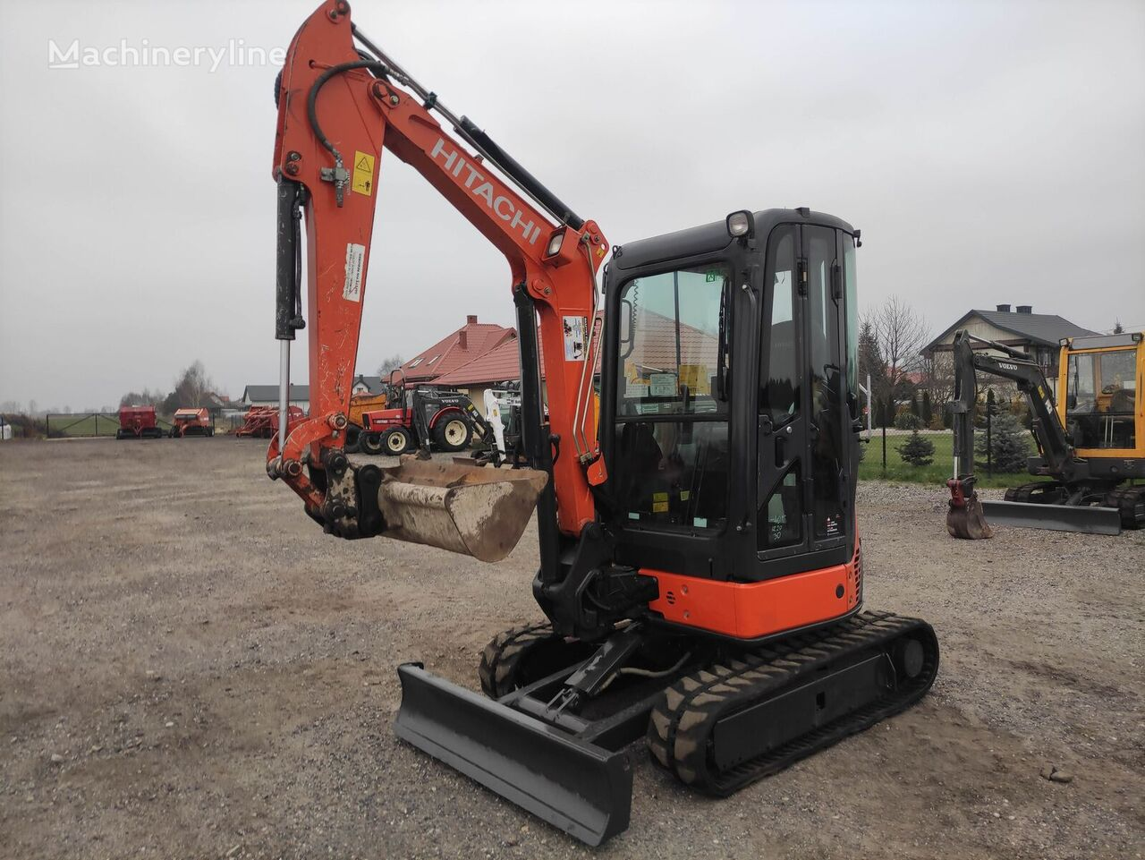 HITACHI ZX 29 U mini excavator