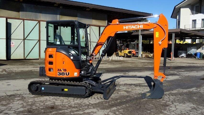 new HITACHI ZX 38U-5A mini excavator
