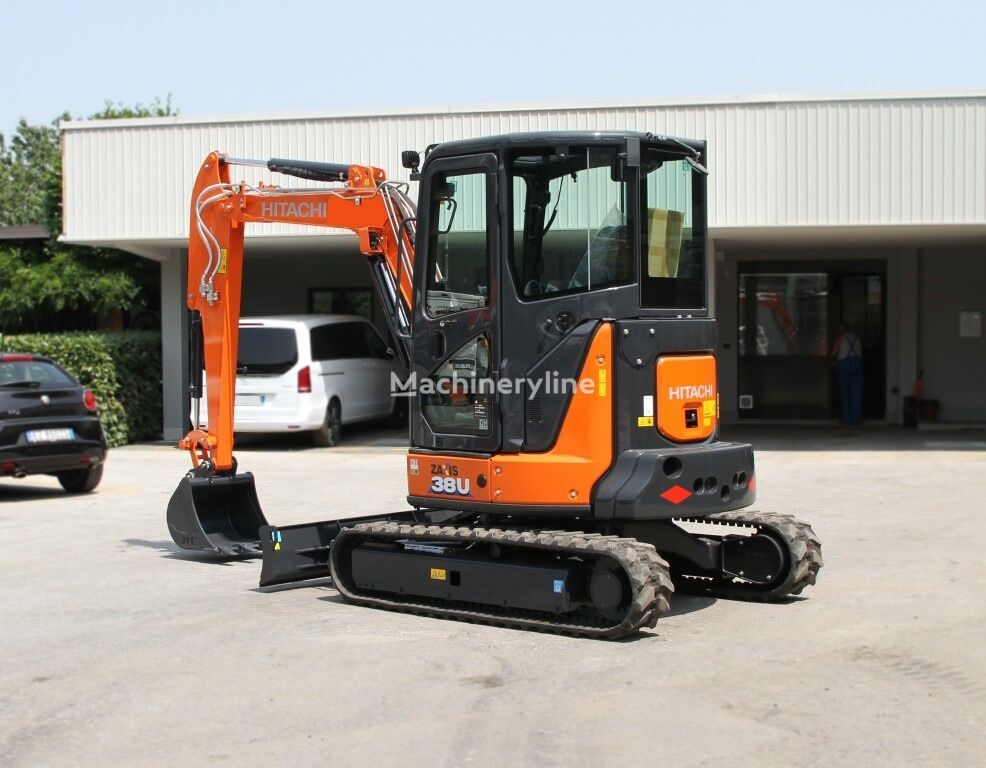 new HITACHI ZX 38U-6 CLR mini excavator
